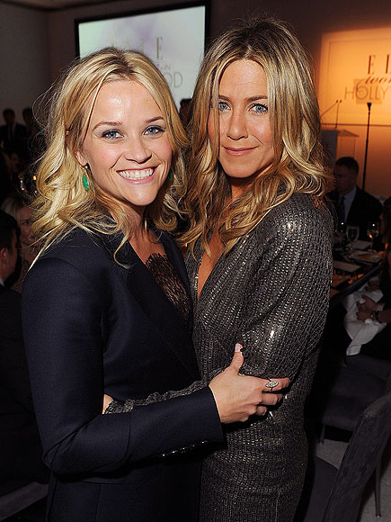 HUG IT OUT photo | Jennifer Aniston, Reese Witherspoon