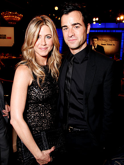 Affectionate at the Cinematheque photo | Jennifer Aniston, Justin Theroux