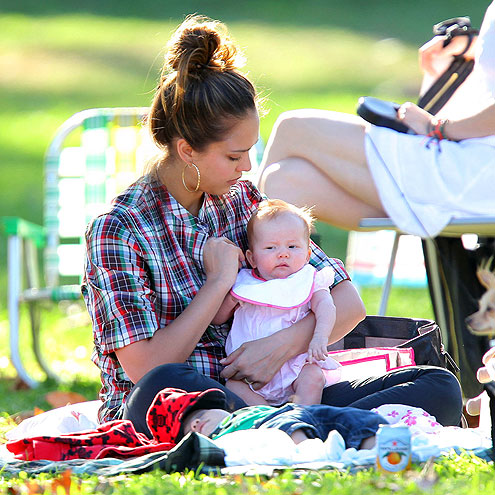 PARK-ING SPOT photo | Jessica Alba