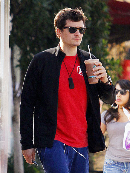 DRINK UP photo | Orlando Bloom