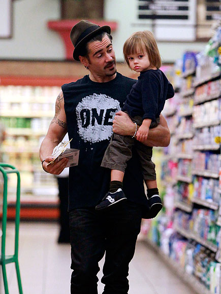 DOWN THE AISLE photo | Colin Farrell