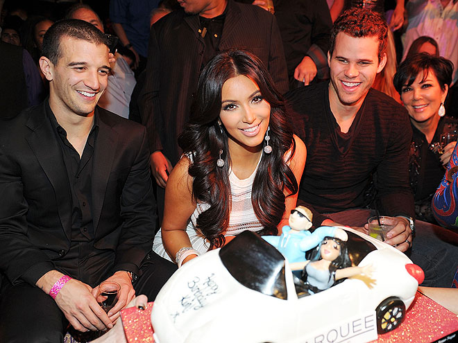 CENTER STAGE photo | Kim Kardashian, Kris Humphries, Mark Ballas