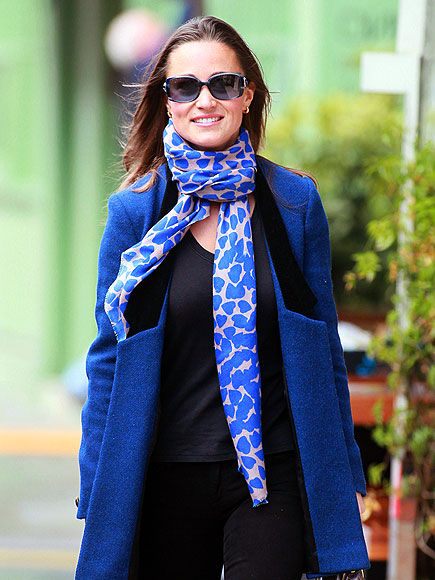 COLOR-CODED photo | Pippa Middleton