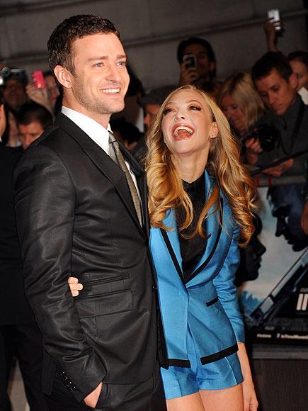GIGGLE FIT photo | Amanda Seyfried, Justin Timberlake