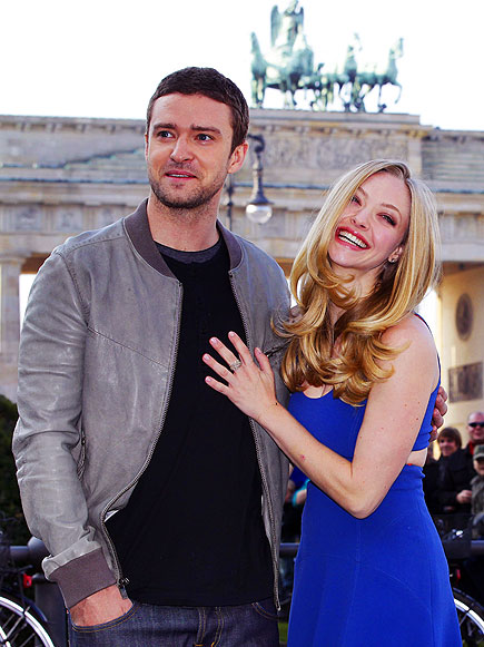 'TIME' OUT photo | Amanda Seyfried, Justin Timberlake
