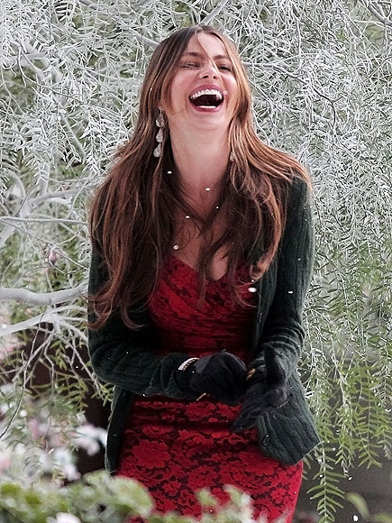 LET IT SNOW! photo | Sofia Vergara