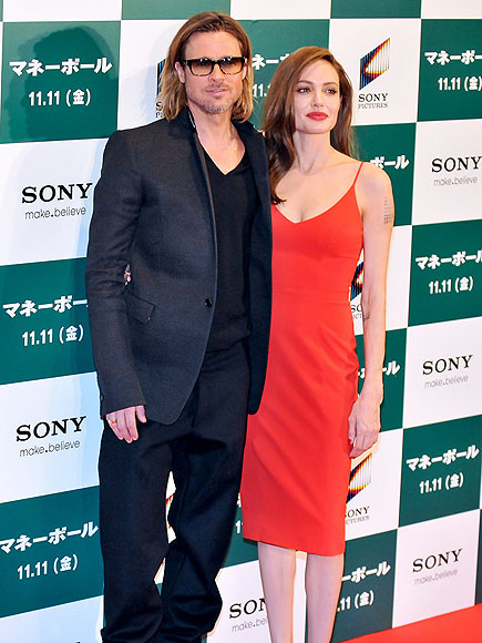 THEY'RE SO 'MONEY'  photo | Angelina Jolie, Brad Pitt