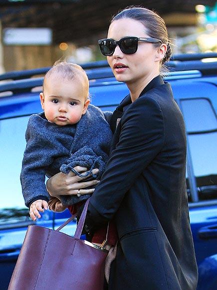 Cheeky Baby photo | Miranda Kerr