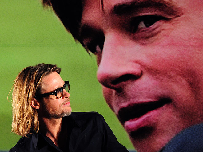 SEEING DOUBLE  photo | Brad Pitt
