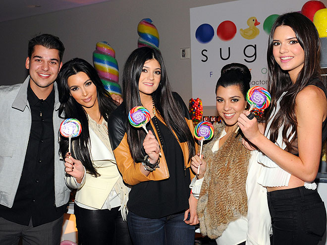 SUGAR HIGH photo | Kim Kardashian, Kourtney Kardashian