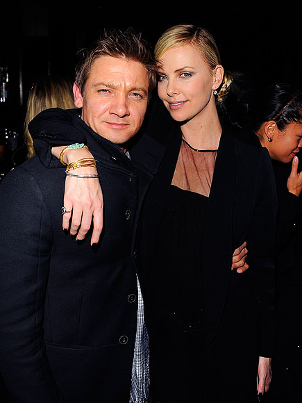 LEAN ON ME photo | Charlize Theron, Jeremy Renner