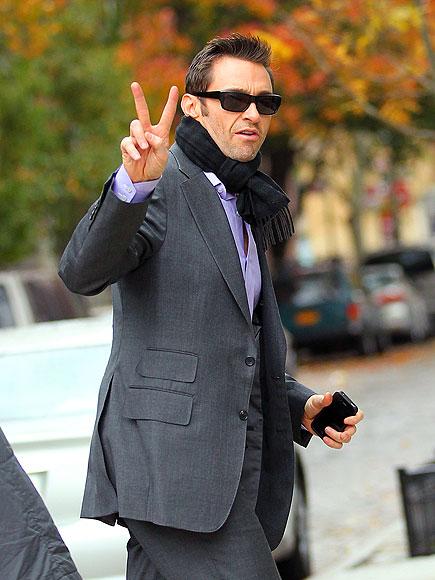 HAND SIGNALS  photo | Hugh Jackman