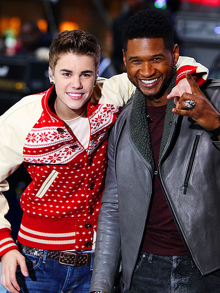 JINGLE BELL ROCK   photo | Justin Bieber, Usher