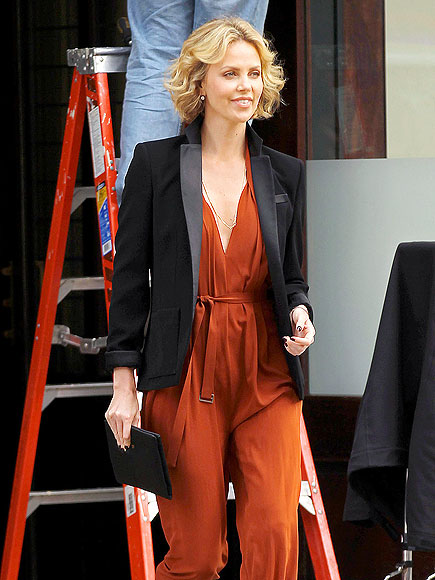 ROMPER ROOM photo   Charlize Theron