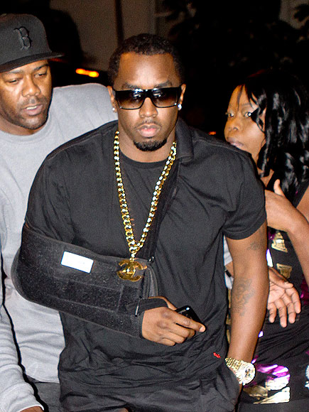 NEED A HAND? photo | Sean P. Diddy Combs