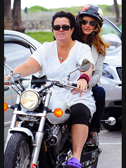 MOTORCYCLE DARIES   photo | Rosie O'Donnell