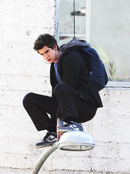 HANGIN' TOUGH photo | Andrew Garfield