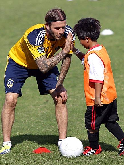 TAKE FIVE photo | David Beckham