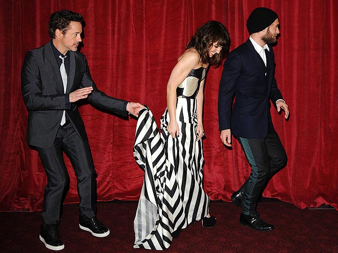 CATCH THE TRAIN photo | Jude Law, Noomi Rapace, Robert Downey Jr.