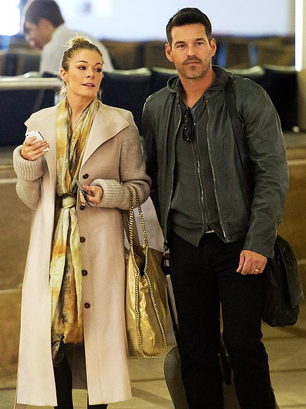 ON THE FLY photo | Eddie Cibrian, LeAnn Rimes
