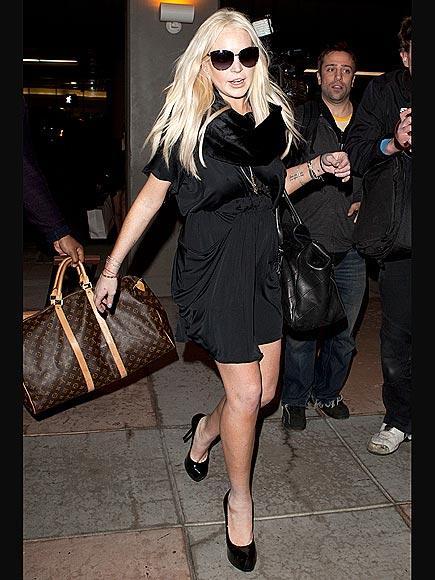 TOUCH DOWN photo | Lindsay Lohan