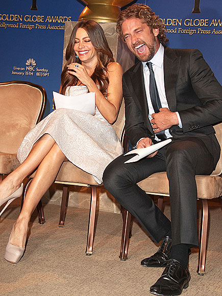 GIGGLE FIT  photo | Gerard Butler, Sofia Vergara
