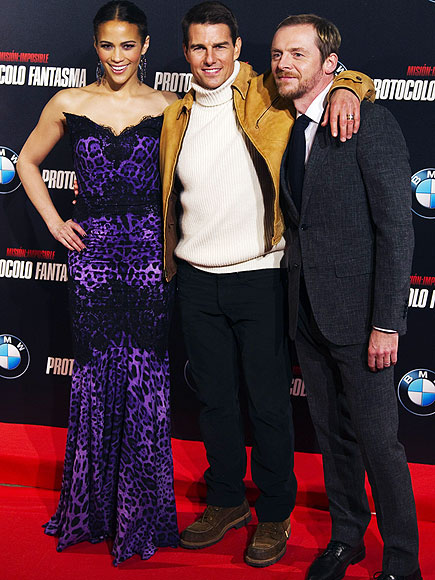 CRUISE CONTROL photo | Paula Patton, Simon Pegg, Tom Cruise