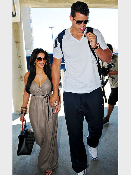 KIM KARDASHIAN & KRIS HUMPHRIES photo | Kim Kardashian, Kris Humphries