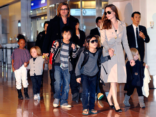 THE JOLIE-PITTS photo | Angelina Jolie, Brad Pitt