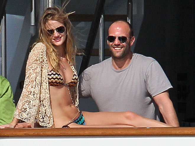 ROSIE HUNTINGTON-WHITELY & JASON STATHAM photo | Jason Statham