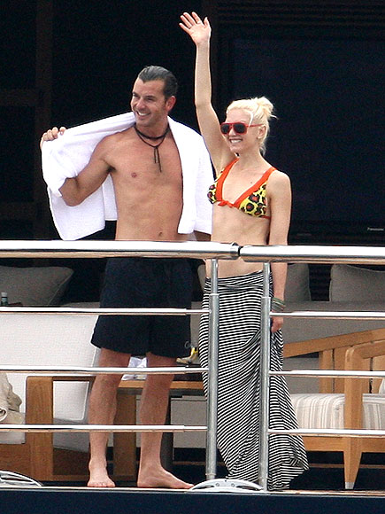 GAVIN ROSSDALE &#38; GWEN STEFANI photo | Gavin Rossdale, Gwen Stefani