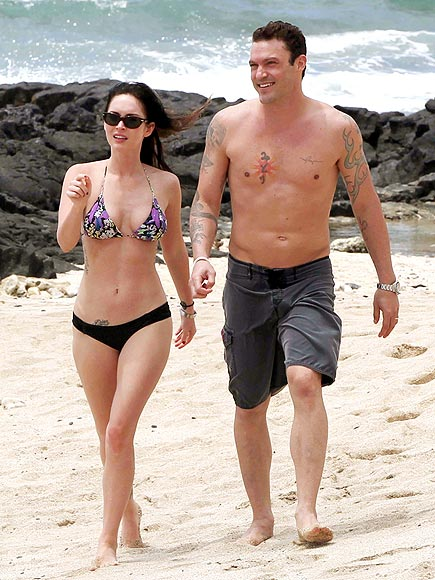 BRIAN AUSTIN GREEN & MEGAN FOX photo | Brian Austin Green, Megan Fox