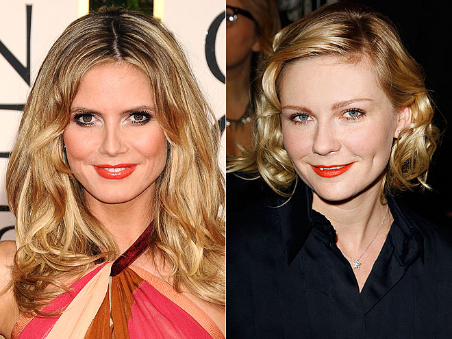ORANGE CRUSH photo | Heidi Klum, Kirsten Dunst