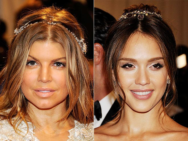 HAIR JEWELS photo | Fergie, Jessica Alba