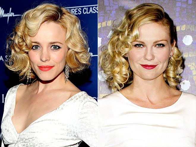 RETRO CURLS photo | Kirsten Dunst, Rachel McAdams