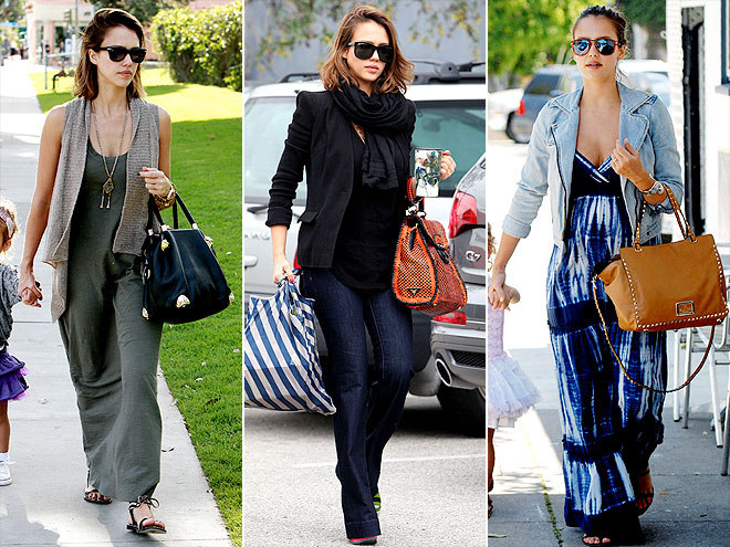 JESSICA ALBA'S HANDBAGS photo | Jessica Alba