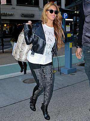 Would You Wear Studded Leggings like Beyoncé?