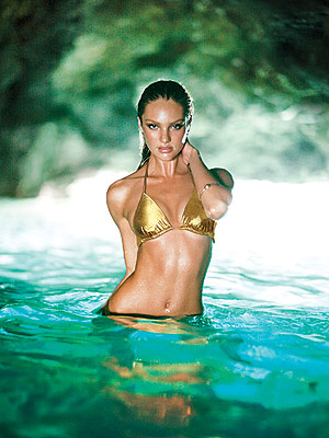 Candice Swanepoel Bikini Cover for Victoria's Secret Revealed