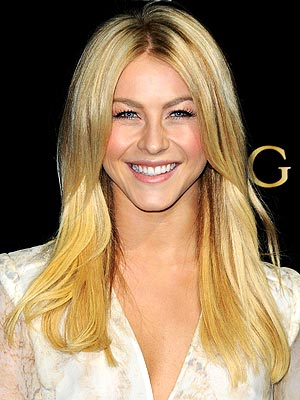 Julianne Hough Ryan Seacrest Likes Me Blonde