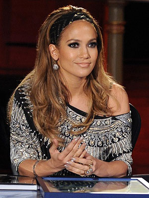 Jennifer Lopez on her Idol Wardrobe
