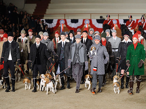 Dogs Hit the Runway at Milan Fashion Week