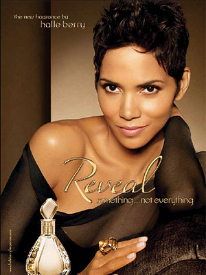Halle Berry's New Fragrance