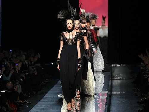 Jean Paul Gaultier Haute Couture Show