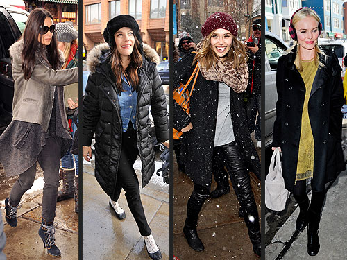 Celeb Sundance Fashion