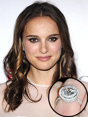 Natalie Portman Engagement Ring from Benjamin Millepied