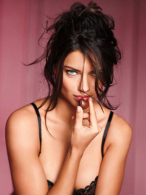 Adriana Lima Valentine's Day Ideas