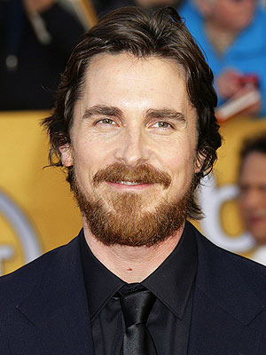Christian Bale Hair at the Screen Actors Guild Awards