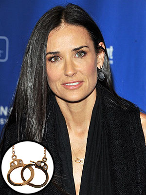 Demi Moore Creates Valentine's Day Jewelry
