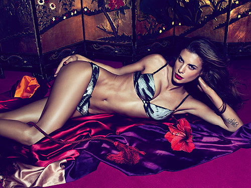 Elisabetta Canalis Roberto Cavalli Underwear