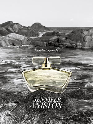 Jennifer Aniston Perfume Ad